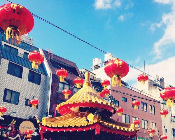 神戸の中華街。今年のお正月は楽しかった〜🍴🍜🍗 Kobe-shi,Japan Newyearholidays Chinatown 神戸 中華街 お正月 思い出 Fun