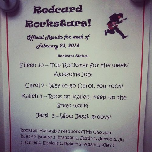 Yep I'm a rockstar. @jleighxox you are too! Targettruth Workflow