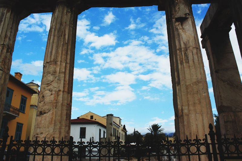 Plaka Ancient Sky And Clouds Canon Eos 450d