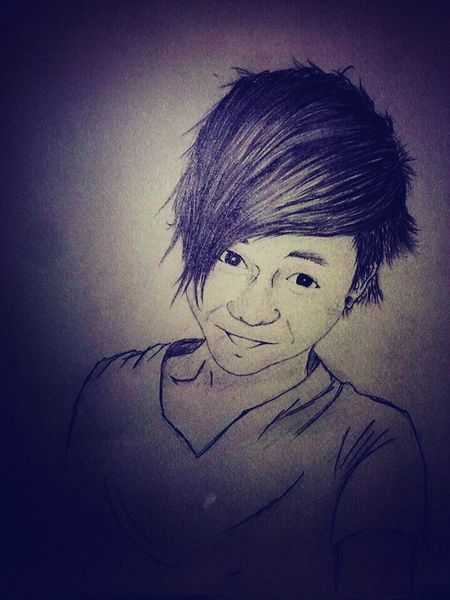 My first drew, ages ago, my best friend also LOL