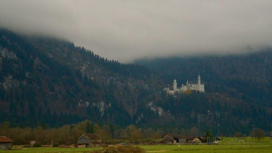 Foggyday Travelling Germany🇩🇪 Schwanstein Castle