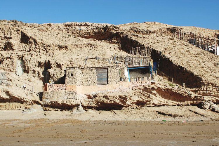 Fishermen's homes in sidi rabat