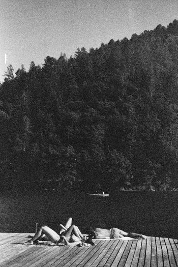 Italy by the lake Italy Blackandwhite Relaxing Moments Lake Bythewater