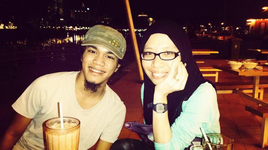 Wif my brother in law , Maulana. Kuching#borneo#sarawak Kuchingmalaysia Kuching