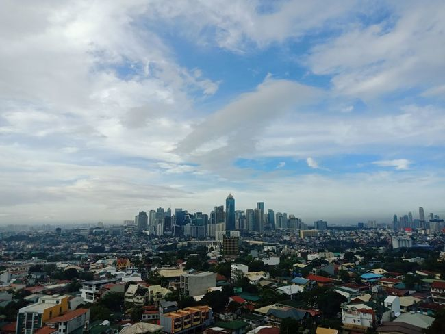 Tomorrowland 😜 Eyeem Philippines Hotel Hotel View Hotels Cityscape City Architecture Skyscraper Downtown District Cloud - Sky Building Exterior Sky Urban Skyline Travel Destinations Modern High Angle View Business Finance And Industry No People Outdoors Day Built Structure Crowded Residential Building