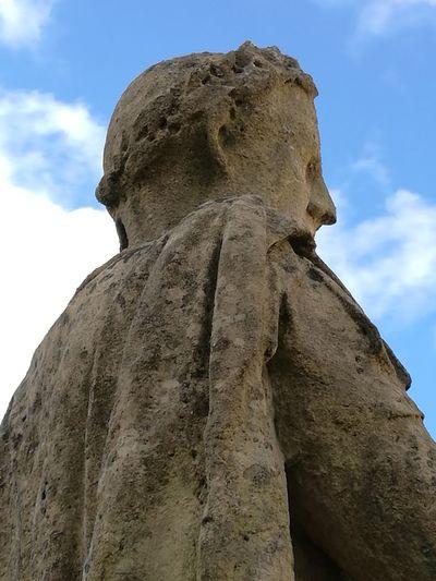 Vespasian Statue Ancient Civilization Cloud - Sky Sky Travel Destinations History Sculpture Travel Close-up Architecture