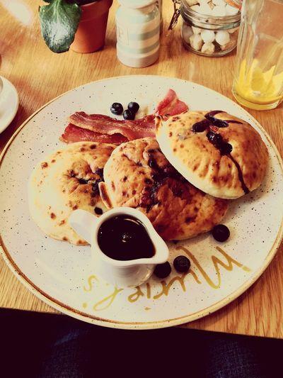 Good 'ol pancakes Pancakes Tasty Good Food First Eyeem Photo