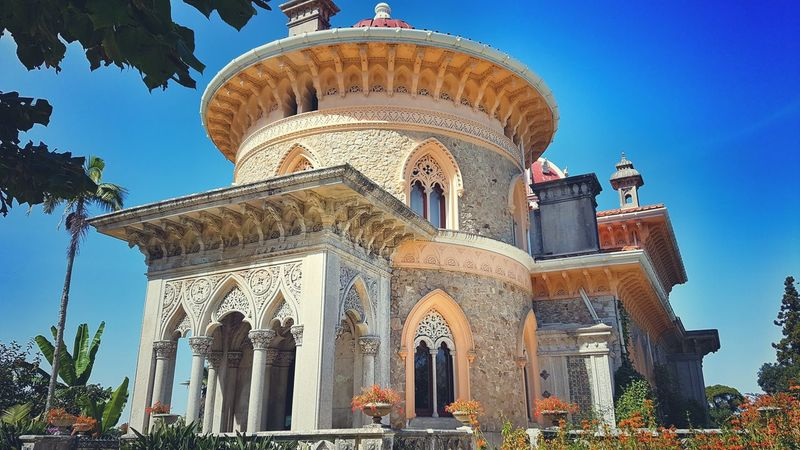Architecture Religion Travel Destinations Sky Outdoors Palace Garden Lisbon - Portugal Sintra, Palacio De Monserrate