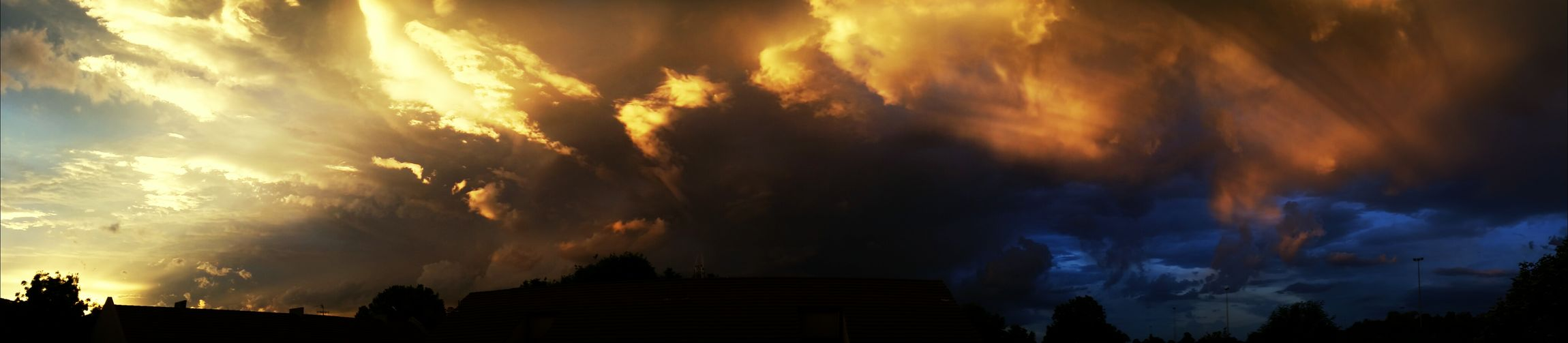 View from my house! In Canberra ! Storm First Eyeem Photo