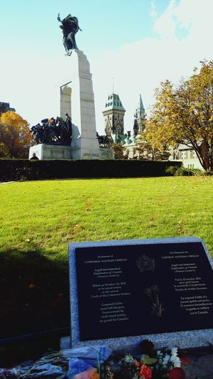 On this day we remember Corporal Nathan Cirillo and the sacrifice he made for the service of this country. Ottawa