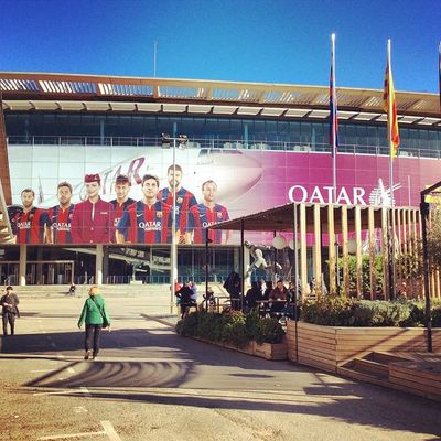 Football Club Catalan Barcelona campnou sport stadium