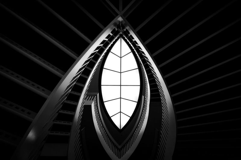 Copy Space Stairs Steps Abstract Architecture Backgrounds Building Interior Built Structure Close-up Day Indoors  Low Angle View Modern No People Staircase Steps And Staircases The Graphic City