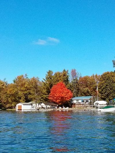 Beautiful fall day Going On A Boat Ride