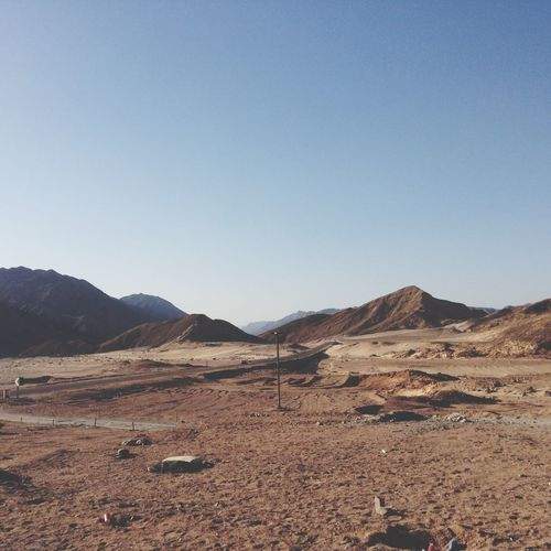 Traveling Desert Nothing.