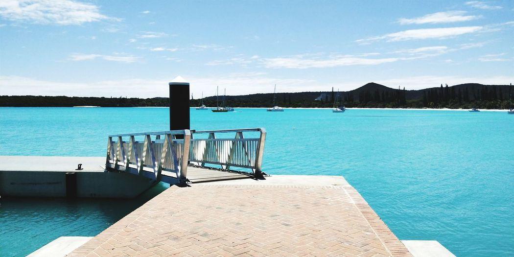 September 2018 Oppo R11s EyeEm Selects Water Sea Tree Blue Sky Coast Horizon Over Water Pier Seascape Calm Sandy Beach Shore Beach Surf Tide Wave