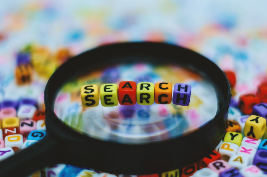 Alphabet Beads Business Content Social Word Data Engine Find Information Internet Keyword Letter Magnifying Glass Marketing Media Online  Optimization Search Seo Strategy Technology Website