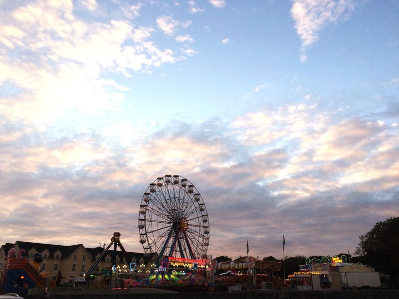 Ferris Wheel Skyline Galway Ireland Skyporn Sunset_collection 🍀