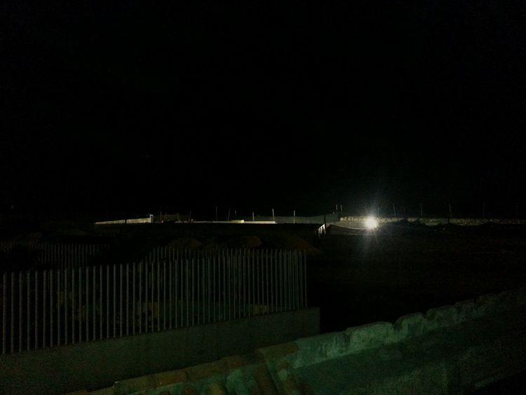 Hotel Corales De Indias Desde Mi Ventana... Barrio Crespo Túnel En Construcción Tunel De Crespo Under Construction... Construction Night Lights Light And Shadow