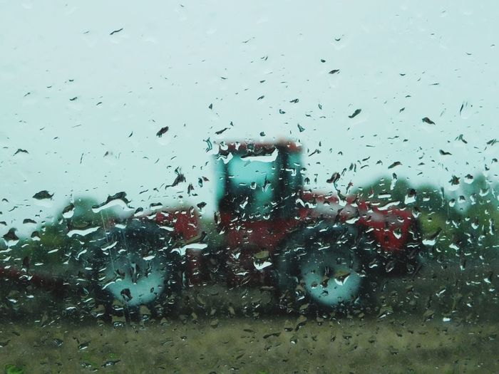 Wet Rain Window