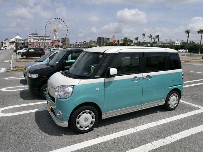 Okinawa City Japan Okinawa City Car Road Street Sky Parking