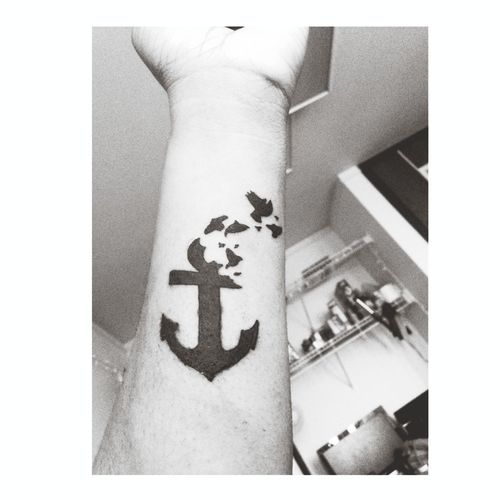 Anchor Tattoo Tattoo Birds Anchor