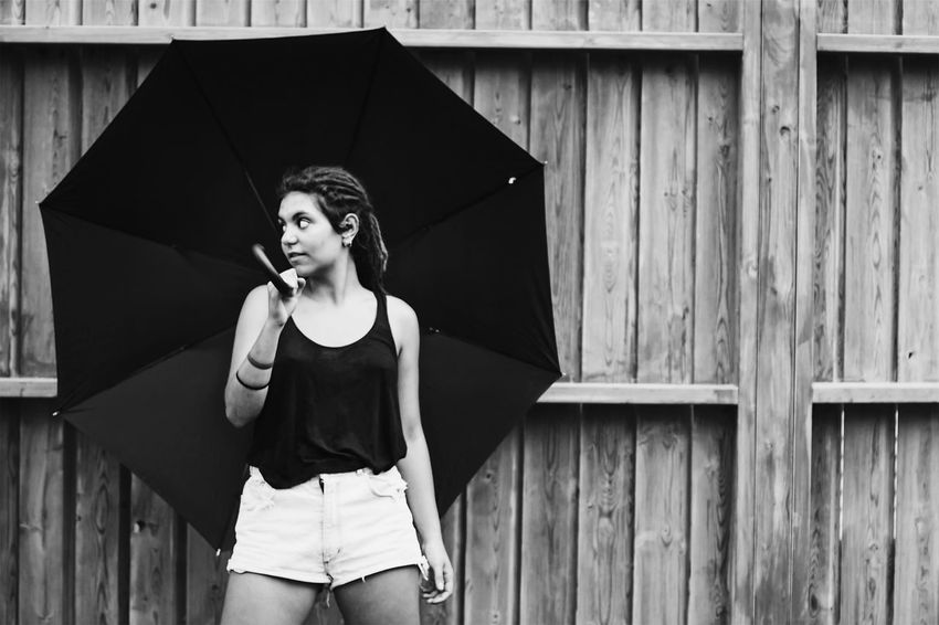 Rainy day?☂️ People Focus Object Water Person Young Women Taking Photos Check This Out Canon Hello World Blackandwhite Rastafari Girl Lightroom Vscocam