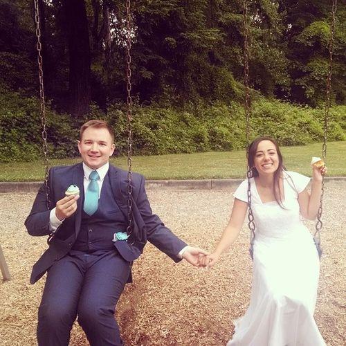 Two weeks of marriage.. So far so good :) Thatwifeylife 😘