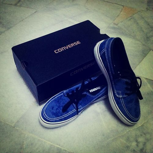 I Love Converse Check This Out Bluejeans Shoes <3