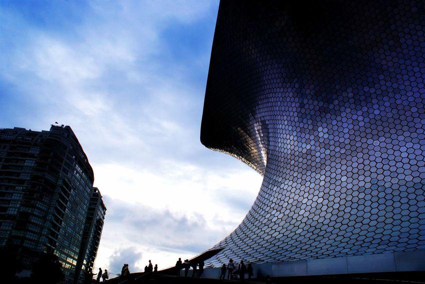 Museo Soumaya México Museo Soumaya Mexico City Arquitectura Contemporary