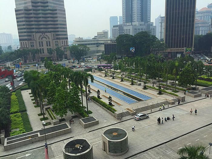 Another sight seeing from Suria KLCC in Kuala Lumpur Malaysia Summer Views