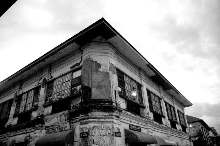Ancestral House Architecture Building Exterior Cloud - Sky Historical Building Low Angle View No People Travel