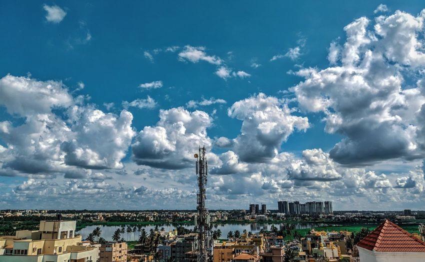 City Arts Culture And Entertainment Amusement Park Sky Cloud - Sky