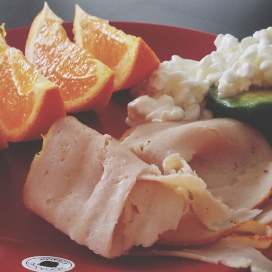 Breakfast Avocado OrangeFood