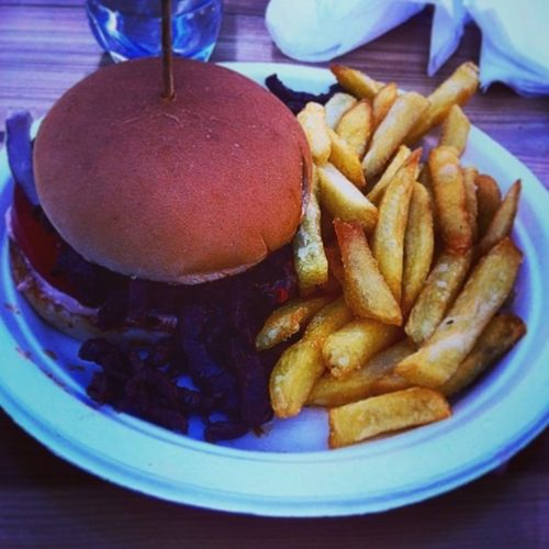 My birthday at babas burger! I Love Burgers 11th IPhoneography Adding Random tags