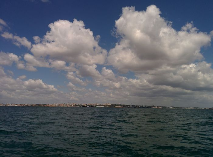 Beauty In Nature Cloud - Sky Day Nature No People Outdoors Scenics Sea Sky Tranquil Scene Tranquility Vacations Water