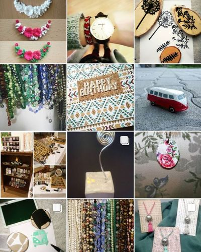 Follow my new page on Instagram: Stempelschmuck 😍🤗💎 ınstagram Newpage  Selfmade Art And Craft Madeinaustria Madewithlove Follow4follow Collage Variation Choice No People Multi Colored Multiple Image Close-up