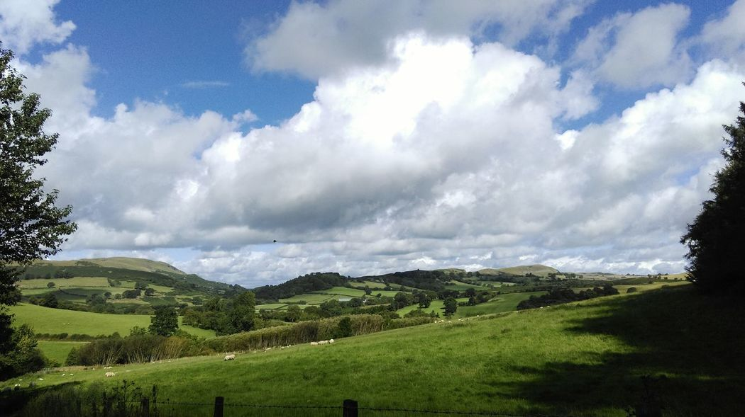 Big sky Camping My Rural Life feeling a little Autumnal Wales