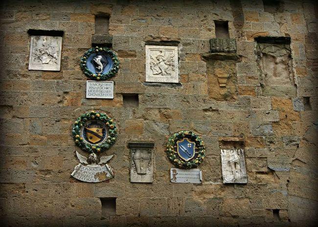 Arezzo Toscana Italia Medaglioni Arte Comune Vacanza