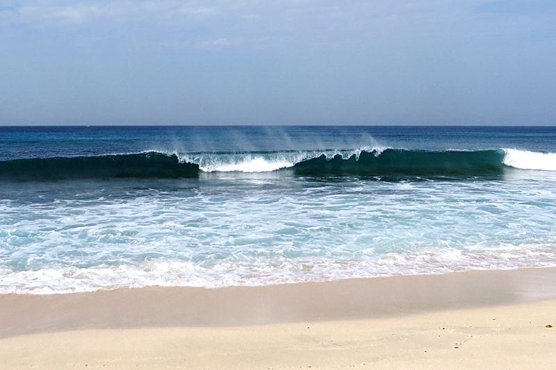 Waves breaking on a Tropical Beach Sand Beach Beachphotography Waves Crashing Beach Plus Wave Barrel Seaside Waves, Ocean, Nature Wave Ocean Sea Water_collection Nature_collection Water Surf Barrelling Wave Barrel Coast Nature