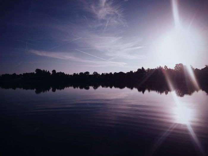 sunrise. Rajgród, Poland. Landscape Romantic EyeEm Best Shots EyeEm Best Shots - Nature Spring Nature Beauty In Nature Minimalism EyeEm Best Edits Sunrise Lake Tree Astronomy Water Reflection Sky