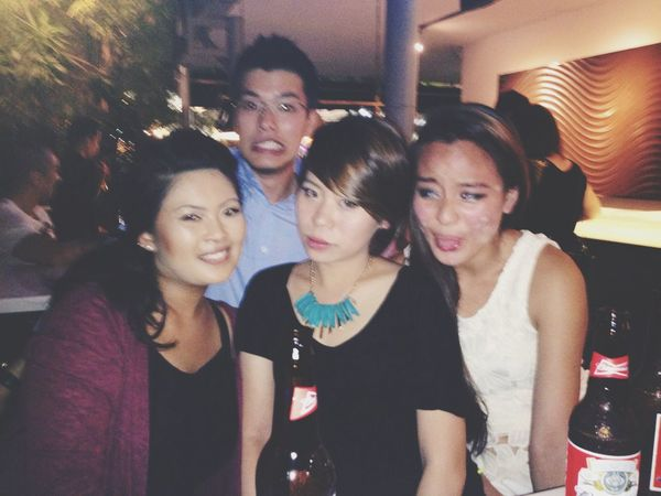 Clubbing Hanging Out Drinking Friends