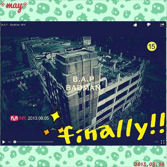 B.A.P-BADMAN,finally!!!!!! That's start!!!!真的好帥啊剛開始大賢的那段也太好聽了吧大家快去聽啦歌曲的風格就是B.A.P擅長的強烈風格啦我愛死了♡ BAP Badman Choijunhong Zelo 준홍 gorgeous handsome pic instagram instapic instatoday instadaily asiangirl 2013 life Taiwan Taipei