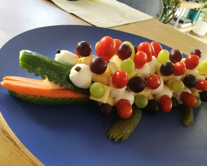 Selbstgemacht food No People Food State Ready-to-eat Krokodil Krokodile Fingerfood Appetizer Meal Kreation Partytime Party Kinder Snacks Time Animals