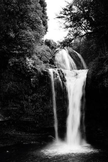 清冽。 Waterfall Monochrome Photography