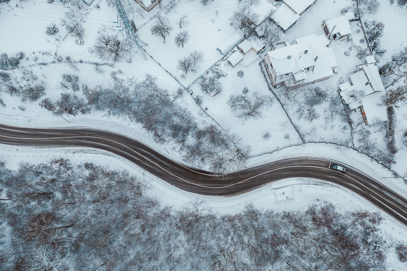 Road Aerial View Aerial Drone  Mavic 2 Mavic 2 Pro DJI X Eyeem Europe Winter Snow Wintertime Winter Wonderland Cold Temperature No People Tree Plant Beauty In Nature Nature Road Scenics - Nature Transportation High Angle View Day Covering Tranquility Tranquil Scene Outdoors Connection Field