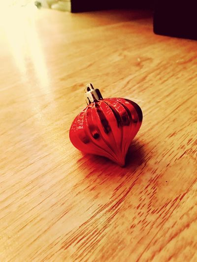 Red Indoors  Wood - Material No People Close-up Illuminated Christmas Ornament Decoration Bobble