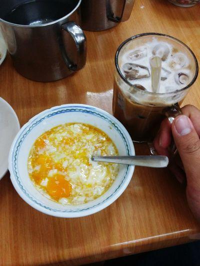 Traditional Breakfast Half Boiled Eggs Nestlo