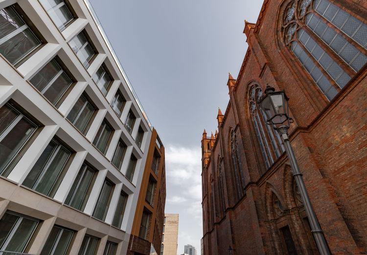 Friedrichswerder church next to modern architecture