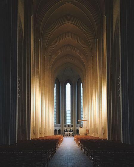 Indoors  Religion Built Structure Architecture Travel Destinations Kopenhagen Grundvigskirken Denmark Europe The Architect - 2018 EyeEm Awards