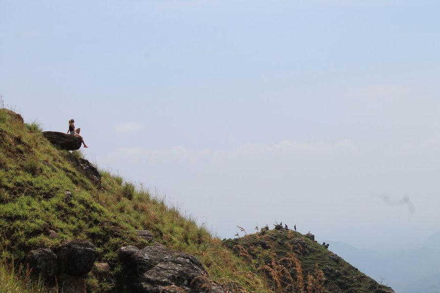 Little Adam's Peak, Ella, Sri Lanka Highland Hochland, Sri Lanka Sri Lanka Travel Sri Lanka 🇱🇰 Tourists Adventure Day Little Adam's Peak Nature One Person Outdoors Real People Sky Postcode Postcards